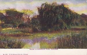 Scene in Humboldt Park, Chicago, Illinois,  PU-1910