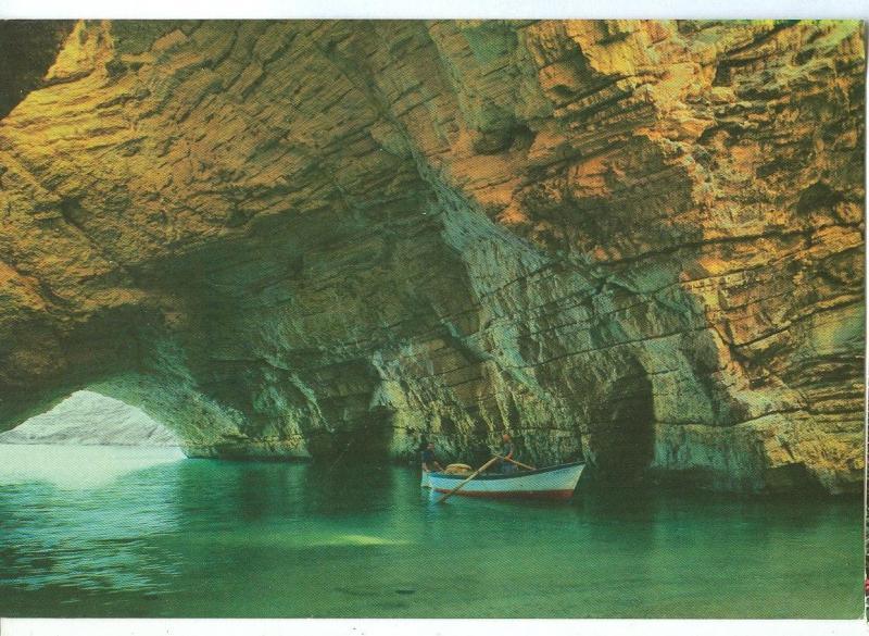 Italy, Il Gargano, Vieste, Grotta di Campi, 1980s used Postcard
