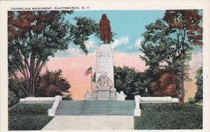 New York Plattsburg Champlain Monument
