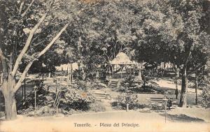 Spain Tenerife Plaza del Principe Promenade Postcard