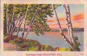 FL Freeport Greetings From