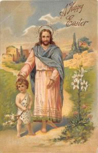 Easter, Jesus Christ and a boy