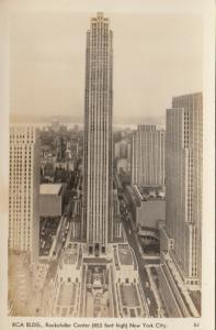 RP: NEW YORK CITY, 1930s ; RCA Building