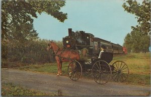 The Strasburg Rail Road, Route 741 Strasburg, Pennsylvania PA Vintage Postcard