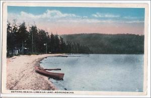 Bathing Beach, Limekiln Lake, Adirondacks