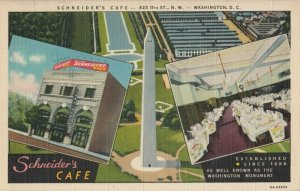 WASHINGTON D.C. , 1930-40s ; Schneider's Cafe