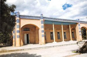 Uzbekistan Khiva The Nurullabai Palace Der Palast Nurullabei