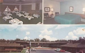 3-views,  Silver Spur Lodge,  Dodge City,  Kansas,  40-60s