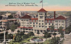JACKSONVILLE , Florida, 00-10s; Aerial View of Windsor Hotel & Hemming City Park