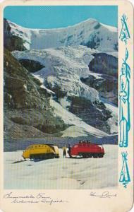 Canada Alberta Columbia Icefield Snowmobile Tour 1960