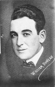 WILLIAM DUNCAN Movie Star Silent Film Actor c1920s RPPC Vintage Postcard