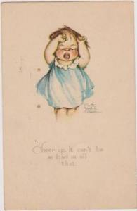 Ruth Welch Swer: Little Girl Throwing Tantrum, Cheer Up.  It can't be as bad...