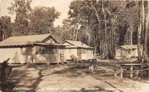 G21/ Curtus Michigan RPPC Postcard 1946 Buckeye Beach Cottages