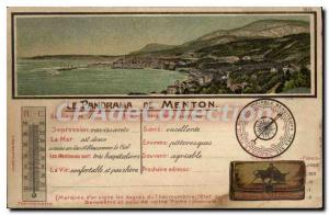 Postcard Old Chin panorama