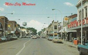 MILES CITY , Montana , 50-60s ; Main Street
