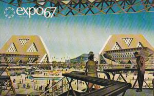 Canada Montreal Expo 67 Man The Explorer
