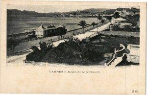 CPA CANNES - Boulevard de la Croisette (199230)