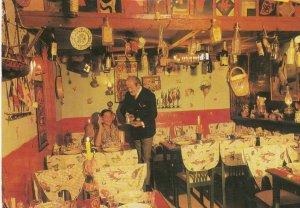Louis Fisher's GOULASH INN , Hungarian Restaurant, JERUSALEM , Israel , 1971