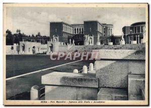 Old Postcard Stadium Roma Foro Mussolini