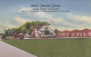 North Carolina Dunn Ideal Tourist Court