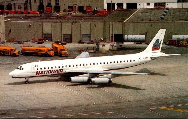 Nationair Canada McDonnell Douglas DC-8-62 At Toronto - Lester B Pearson Inte...