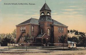 COFFEYVILLE, Kansas, 1900-1910´s; Lincoln School