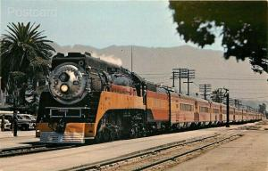 Railroad, Southern Pacific, GS-5 Engine 4458,CA, Santa Barbara, California