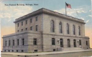 Montana Billings The New Federal Building 1915 Curteich
