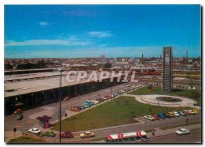 Postcard Modern Brasil Turistico Curitibia Railway Station and Bus Terminal