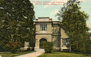 1912 Postcard The Albany Institute And Historical And Art Society New York