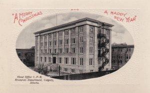 Calgary , Alberta, Canada, 1900-10s; Head Offices C.P. Railroad
