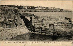 CPA Ste-MARIE de PORNIC - Le Pont du Diable et la Pointe de (587548)
