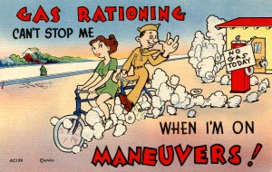 Military Humor - Gas Rationing