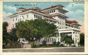 hawaii, HONOLULU, Moana Hotel (1920s)