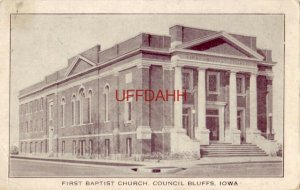 FIRST BAPTIST CHURCH, COUNCIL BLUFFS, IA. J Frederick Catlin, Pastor. Christmas
