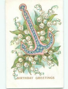 Divided-Back BEAUTIFUL FLOWERS SCENE Great Postcard AA3954