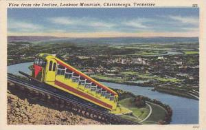 View From The Incline, Lookout Mountain, Chattanooga, Tennessee, 30-40s