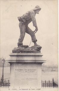 France Calais Le Monument de Cavet