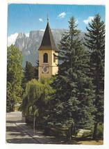 Italy Renon Collalbo Ritten Klobenstein Alps Tyrol Vtg PJ F Amann Postcard 4X6