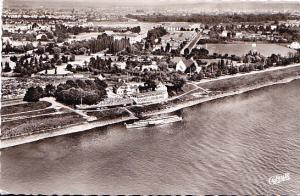 Rheinrestaurant Schnellenburg - Aerial Photo