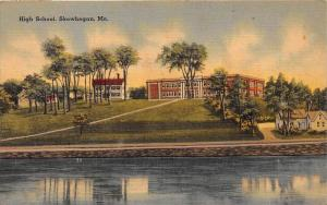 11864 ME Skowhegan 1940's    High School