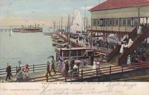 New Jersey Atlantic City Yachting Pier 1906