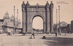 Arco De Triunfo, Barcelona (Catalonia), Spain, 1900-1910s