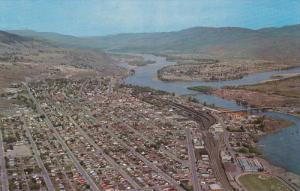 Aerial View, The Sportsman's Paradise,  KAMLOOPS, British Columbia, Canada,...