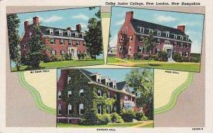 New Hampshire New London Colby Junior College Curteich