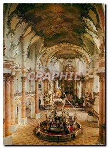 Postcard Modern Wallfahrtskkirche Vierzehnheiligen Basilica Gnaden und Hochaltar