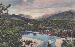 New Hampshire White Mountains Franconia Notch And The Pemigewasset River