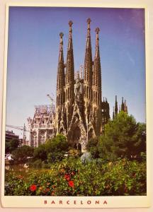 Spain, Barcelona, Temple de la Sagrada Familia, Antoni Gaudi, Facana del Naixeme