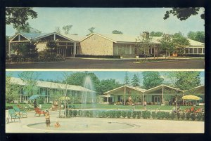 Tarrytown, New York/NY Postcard, Hilton Inn, Westchester County, Sleepy Hollow