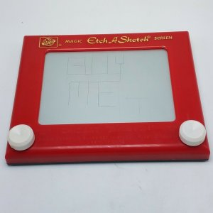 Vintage - NO 505 Magic - Etch A Sketch - Screen by OHIO ART - 9 3/4 x 8